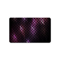Fabulous Purple Pattern Wallpaper Magnet (Name Card)