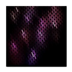 Fabulous Purple Pattern Wallpaper Face Towel
