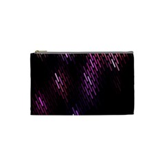 Fabulous Purple Pattern Wallpaper Cosmetic Bag (Small)