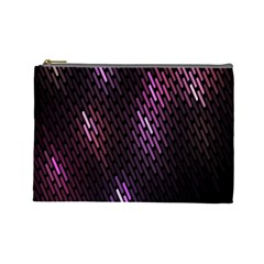 Fabulous Purple Pattern Wallpaper Cosmetic Bag (Large)