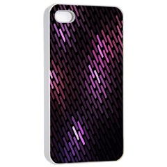 Fabulous Purple Pattern Wallpaper Apple iPhone 4/4s Seamless Case (White)