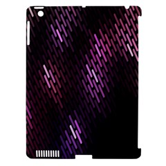 Fabulous Purple Pattern Wallpaper Apple iPad 3/4 Hardshell Case (Compatible with Smart Cover)
