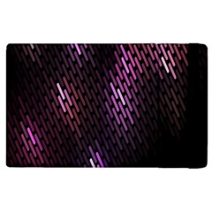 Fabulous Purple Pattern Wallpaper Apple iPad 3/4 Flip Case