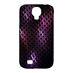 Fabulous Purple Pattern Wallpaper Samsung Galaxy S4 Classic Hardshell Case (PC+Silicone)