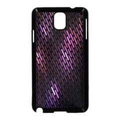 Fabulous Purple Pattern Wallpaper Samsung Galaxy Note 3 Neo Hardshell Case (Black)