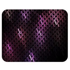 Fabulous Purple Pattern Wallpaper Double Sided Flano Blanket (Medium)