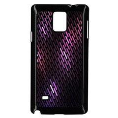 Fabulous Purple Pattern Wallpaper Samsung Galaxy Note 4 Case (Black)