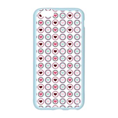 Circle Love Heart Purple Pink Blue Apple Seamless iPhone 6/6S Case (Color)