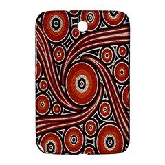 Circle Flower Art Aboriginal Brown Samsung Galaxy Note 8.0 N5100 Hardshell Case