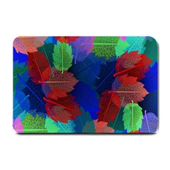 Floral Flower Rainbow Color Small Doormat