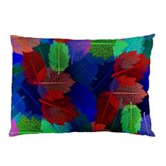Floral Flower Rainbow Color Pillow Case