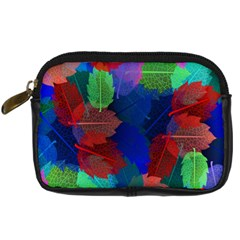 Floral Flower Rainbow Color Digital Camera Cases