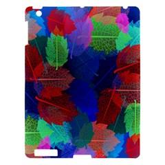 Floral Flower Rainbow Color Apple iPad 3/4 Hardshell Case