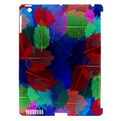 Floral Flower Rainbow Color Apple iPad 3/4 Hardshell Case (Compatible with Smart Cover)