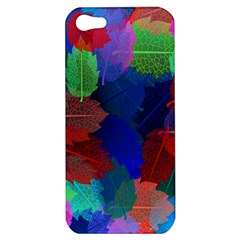 Floral Flower Rainbow Color Apple iPhone 5 Hardshell Case
