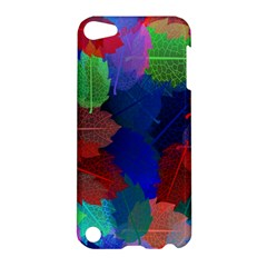 Floral Flower Rainbow Color Apple iPod Touch 5 Hardshell Case