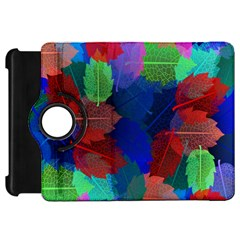 Floral Flower Rainbow Color Kindle Fire HD 7