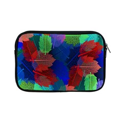 Floral Flower Rainbow Color Apple iPad Mini Zipper Cases