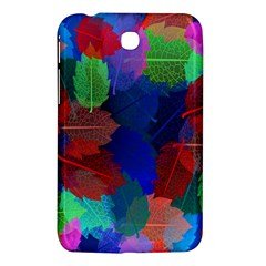 Floral Flower Rainbow Color Samsung Galaxy Tab 3 (7 ) P3200 Hardshell Case