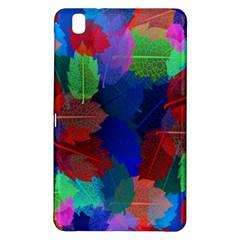 Floral Flower Rainbow Color Samsung Galaxy Tab Pro 8.4 Hardshell Case