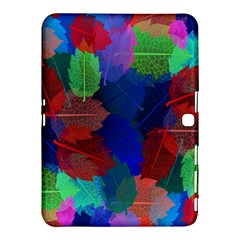 Floral Flower Rainbow Color Samsung Galaxy Tab 4 (10.1 ) Hardshell Case