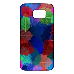 Floral Flower Rainbow Color Galaxy S6