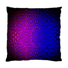 Geometri Purple Pink Blue Shape Pattern Flower Standard Cushion Case (One Side)