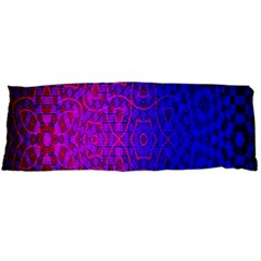 Geometri Purple Pink Blue Shape Pattern Flower Body Pillow Case Dakimakura (Two Sides)
