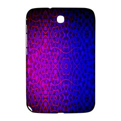 Geometri Purple Pink Blue Shape Pattern Flower Samsung Galaxy Note 8.0 N5100 Hardshell Case
