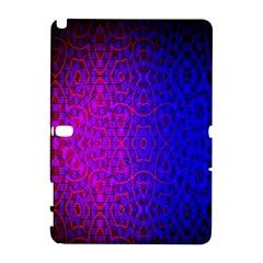 Geometri Purple Pink Blue Shape Pattern Flower Galaxy Note 1