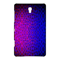 Geometri Purple Pink Blue Shape Pattern Flower Samsung Galaxy Tab S (8.4 ) Hardshell Case