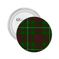 Cardney Tartan Fabric Colour Green 2.25  Buttons