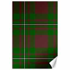 Cardney Tartan Fabric Colour Green Canvas 24  x 36