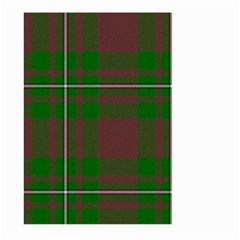 Cardney Tartan Fabric Colour Green Large Garden Flag (Two Sides)