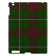 Cardney Tartan Fabric Colour Green Apple iPad 3/4 Hardshell Case