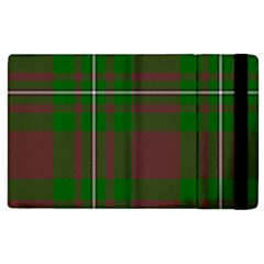 Cardney Tartan Fabric Colour Green Apple iPad 3/4 Flip Case