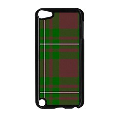 Cardney Tartan Fabric Colour Green Apple iPod Touch 5 Case (Black)