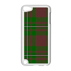 Cardney Tartan Fabric Colour Green Apple iPod Touch 5 Case (White)