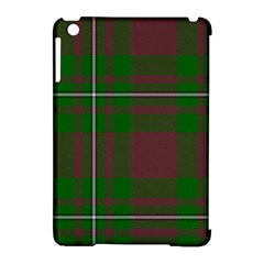 Cardney Tartan Fabric Colour Green Apple iPad Mini Hardshell Case (Compatible with Smart Cover)