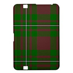 Cardney Tartan Fabric Colour Green Kindle Fire HD 8.9