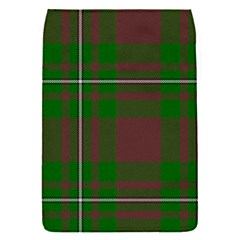 Cardney Tartan Fabric Colour Green Flap Covers (S)