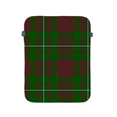 Cardney Tartan Fabric Colour Green Apple iPad 2/3/4 Protective Soft Cases