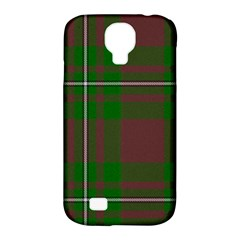 Cardney Tartan Fabric Colour Green Samsung Galaxy S4 Classic Hardshell Case (PC+Silicone)