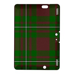 Cardney Tartan Fabric Colour Green Kindle Fire HDX 8.9  Hardshell Case