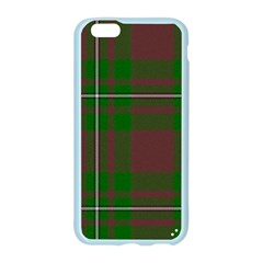 Cardney Tartan Fabric Colour Green Apple Seamless iPhone 6/6S Case (Color)
