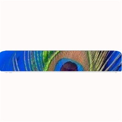 Blue Peacock Feather Small Bar Mats
