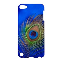 Blue Peacock Feather Apple iPod Touch 5 Hardshell Case