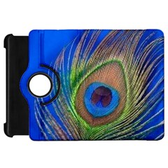 Blue Peacock Feather Kindle Fire HD 7