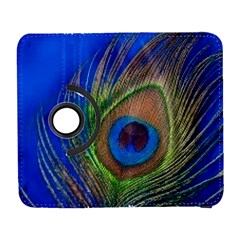 Blue Peacock Feather Galaxy S3 (Flip/Folio)
