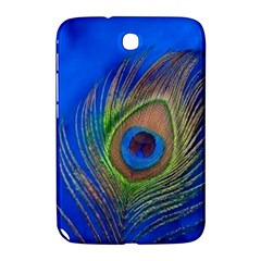 Blue Peacock Feather Samsung Galaxy Note 8.0 N5100 Hardshell Case